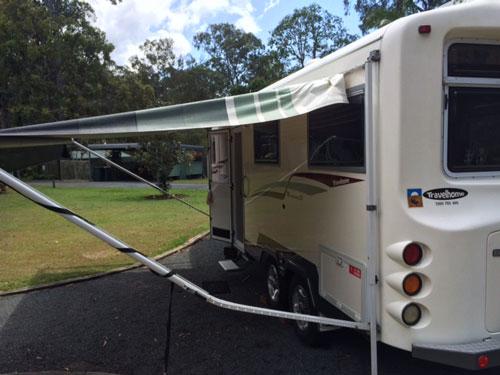 Caravan Storm Damage Repairs Caravan Perfection